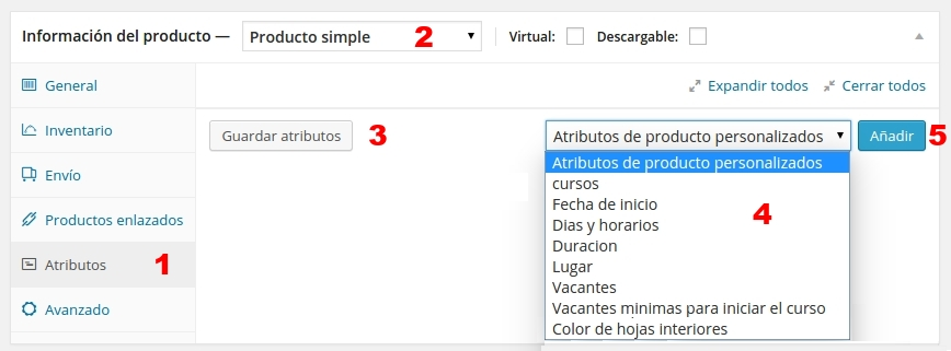 woo commerce producto simple 3