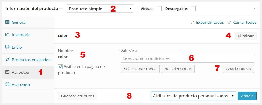 woo commerce producto simple 4